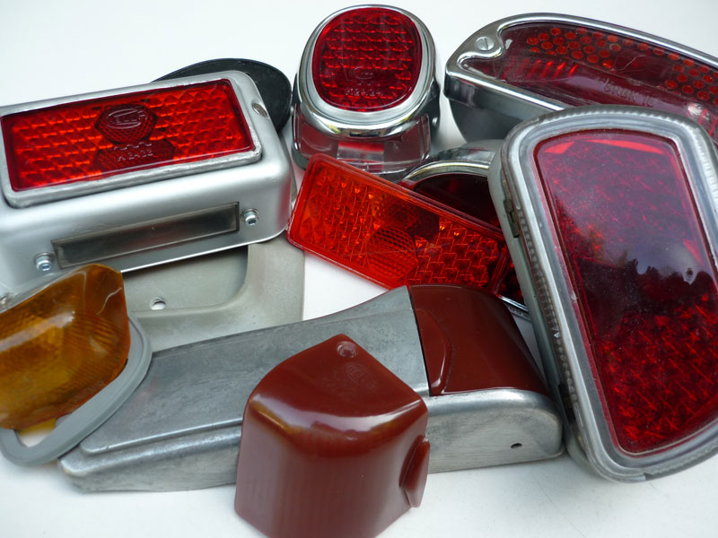 Zündapp Bella - Tail lights