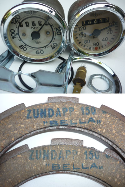 Original Spare Parts for Zündapp Bella