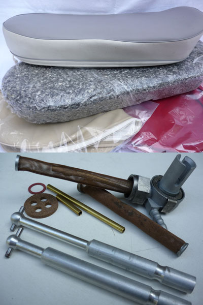 Some Spare Parts from our catalog
